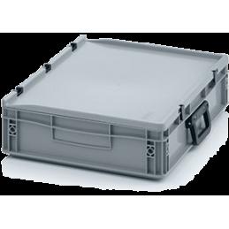 Boîte de rangement 3 stalles en longueur O avec poignée