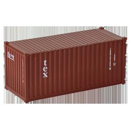 Container 20 pieds Tex