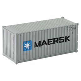 Container 20 pieds Maersk