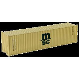 Container 40 pieds MSC